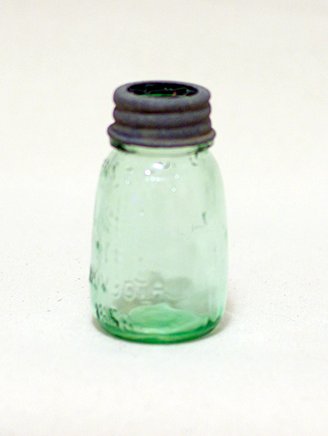 Mini Mason Jar w/ Zinc Lid (For Flowers)