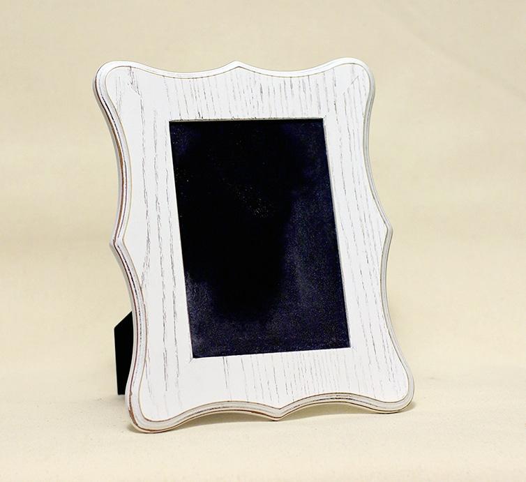Curvy Ivory Frame: 5x7 in. Photo
