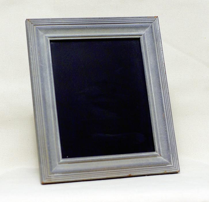 Chalkboard w/ Gray Frame: 8x10