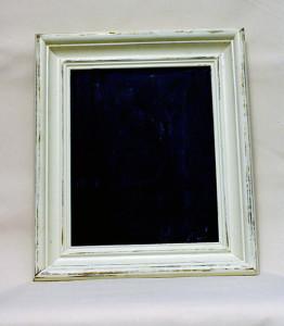 Medium Chalkboard w/ Ivory Frame