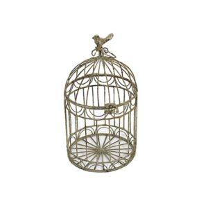 patina birdcage