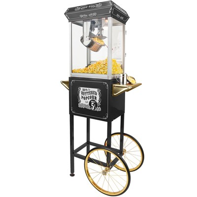 vintage popcorn maker for rent