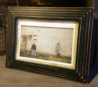 Distressed Black Frame for rent