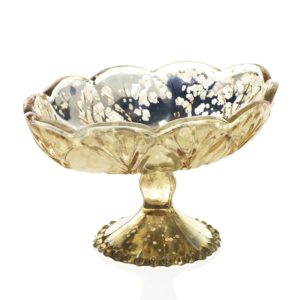 gold mercury glass stand for rent
