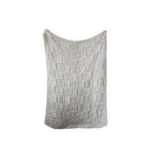 Chunky Knit Acrylic Throw