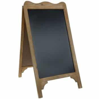 woodchalkboardeasel